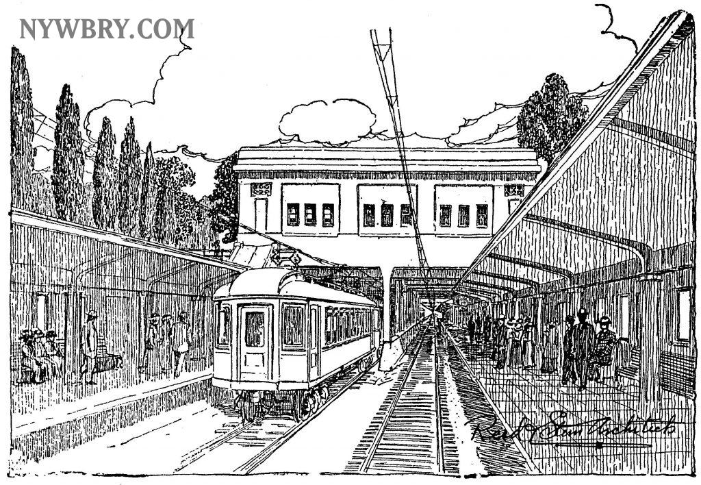 NYW&B Webster Ave. Station, Pelham