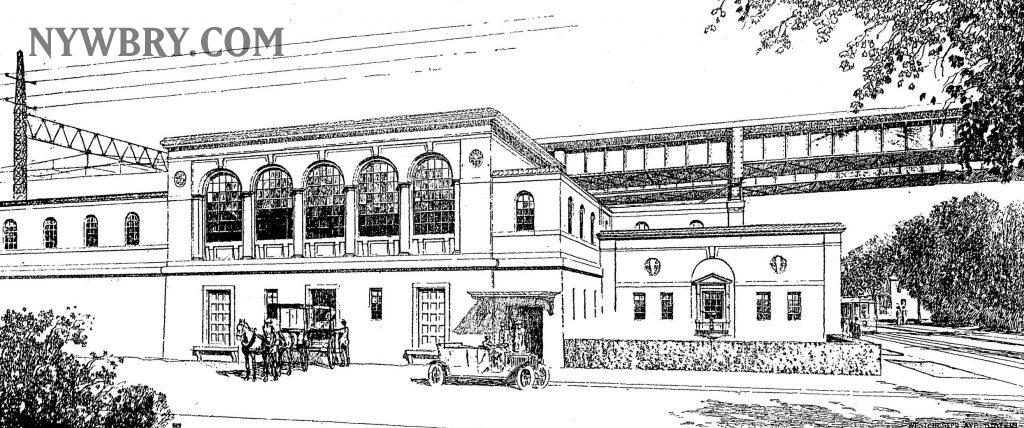 NYW&B White Plains Station